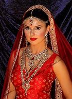Kundan Bridal Set - Rhumi (Matha Patti) BACC10465C Indian Jewellery