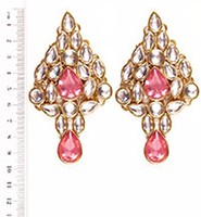 KUSHI Kundan Earrings EGPK03336 Indian Jewellery