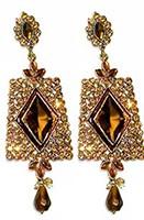 Antique diamante Earrings EANC0804 Indian Jewellery