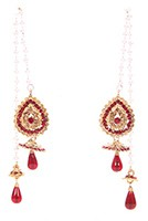 Kashmiri Jhumka Earrings EARC04035 Indian Jewellery