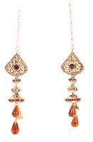 Kashmiri Jhumka Earrings EANC04040 Indian Jewellery