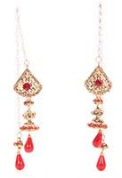 Kashmiri Jhumka Earrings EARC04043 Indian Jewellery