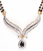 Coloured Mangalsutra Set MGBA04433 Indian Jewellery