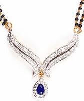 Coloured Mangalsutra Set MGLA04434 Indian Jewellery