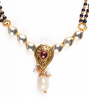 Kundan Mangalsutra Set MARK04440 Indian Jewellery