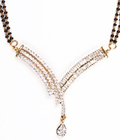 Larger Mangalsutra Set MGWA04428 Indian Jewellery