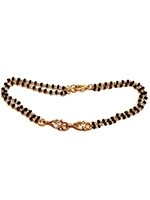 Gold Hand Mangalsutra Bracelet MGWA10889 Indian Jewellery