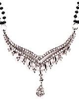 LARGER Mangalsutra Set MSWA03194 Indian Jewellery
