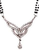 LARGER Mangalsutra Set MSWA03195 Indian Jewellery