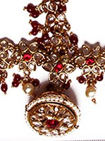 Rajasthani Bell, Jodha Akbar Matha-Patti DARK03313 Indian Jewellery