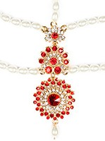 HEENA-Simple Indian Matha-Patti DGRC04015 Indian Jewellery