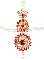 HEENA-Simple Indian Matha-Patti DGRC04016 Indian Jewellery