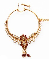 Large Bridal Nath No.4 TGRC02420 Indian Jewellery