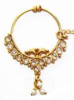 Medium Bridal Nath No.5 TGWP02427 Indian Jewellery