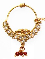 Medium Bridal Nath No.5 TGRP02429 Indian Jewellery