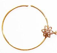 Jodha Large Bridal Nath No.7 TGWP02436 Indian Jewellery
