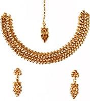 22k Effect Necklace Set NGWA03164 Indian Jewellery