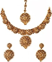 22k Effect Medium Necklace Set NGWA03169 Indian Jewellery