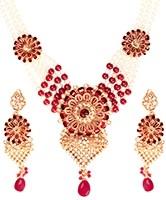 Rajasthani Indian Jewellery Set NGRA03203 Indian Jewellery