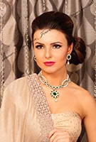 Pearl Necklace & Stud earrings - Adrika NAWL10575C Indian Jewellery
