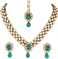 Delicate Set - KAVITA NAWK10544C Indian Jewellery