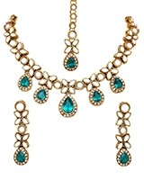 MANDEEP Delicate Kundan Set NALK03399C Indian Jewellery