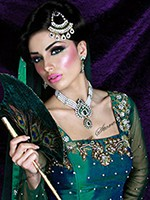 Pearl Necklace and Earrings - Elizabeth NAWL10573C Indian Jewellery
