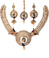 Peacock Jewellery Set NGMK03917 Indian Jewellery