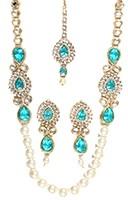 DHOOP Long Pearl Mala NAYK10112C Indian Jewellery