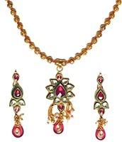 Kundan Pendant Set NAPK04741 Indian Jewellery