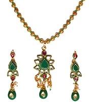 Kundan Pendant Set NAGK04745 Indian Jewellery