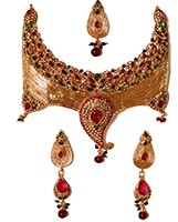 Unique Statement Necklace Set NAAP02896 Indian Jewellery