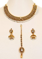 Collar Necklace Set NGWL10051 Indian Jewellery
