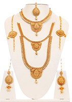 22k Style Indian Bridal Set BGWN10054 Indian Jewellery