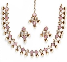 Printi Delicate Pearl Necklace NACA10218C Indian Jewellery