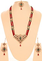 Indian Rani Haar Set - Joshi NGMA10634 Indian Jewellery
