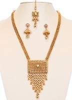 Gold Rani Haar Set NEWK10638 Indian Jewellery