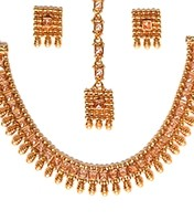 Delicate Traditional Jewellery - Shobna NENA10711C Indian Jewellery