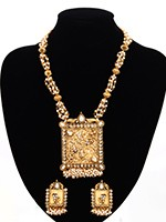 Rajasthan Inspired Jewllery Set NGWP10868 Indian Jewellery