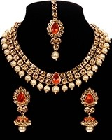Elegant Indian Jewellery Set - Adina NANC10944C Indian Jewellery