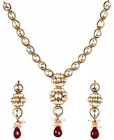 High Quality Delicate Kundan Necklace NERK10978 Indian Jewellery