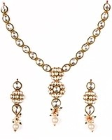 High Quality Delicate Kundan Necklace NEWK10979 Indian Jewellery