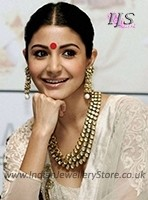 Anushka Sharma Bollywood Necklace Set NANK11144C Indian Jewellery