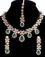 MANDEEP Delicate Kundan Set NAWK11165C Indian Jewellery