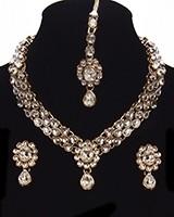KAVITA Delicate Kundan Necklace Set NAWK11166C Indian Jewellery