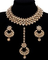 Antique Elegant Indian Choker Jewellery Set NANK11776C Indian Jewellery