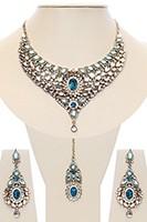 Nisha Indian Bridal Jewellery NALK03977 Indian Jewellery