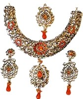 MEESHA Kundan Necklace Set NGWK10531C Indian Jewellery
