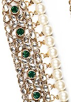 Thick Raveen Pearl Payal YAGK04449 Indian Jewellery