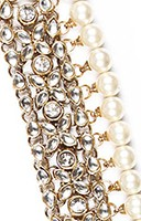 Thick Raveen Pearl Payal YAWK04452 Indian Jewellery